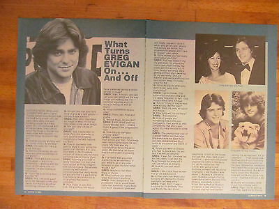Greg Evigan, BJ and the Bear, Two Page Vintage Clipping