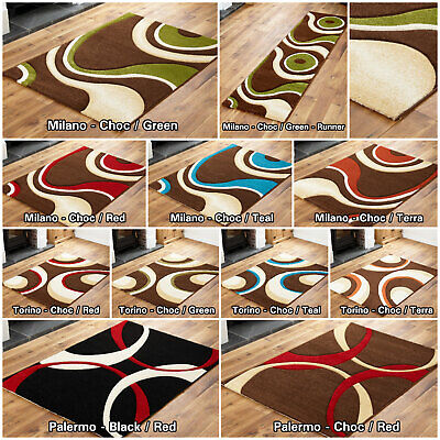 Low Cost Large Clearance Sale Brown Black Sale Modern Soft Sale Area Runner Rug