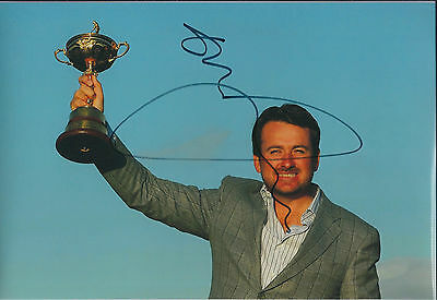 Graeme McDOWELL 2010 Ryder Cup Winner SIGNED AUTOGRAPH Photo AFTAL COA Authentic