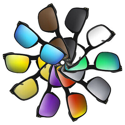 POLARIZED Metallic Silver Mirror Replacement Lenses For Oakley Holbrook