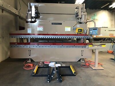 90 Ton x 13' Cincinnati CNC Hydraulic Press Brake Model: 90 FM II x 8