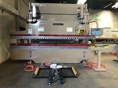 90 Ton x 14' Cincinnati CNC Hydraulic Press Brake Metal Bending Machine