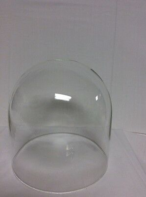 """Clock or Display Glass Dome 4"""" x 4""""  (Dome only) #333d - New"""