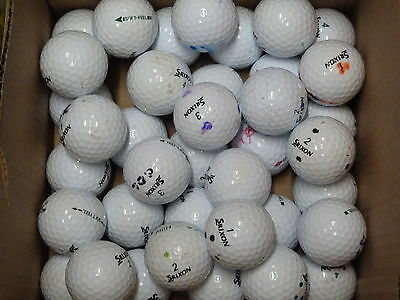 40 Grade B Srixon Soft Feel golf balls superb value