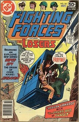 Our Fighting Forces #181 - VG/FN