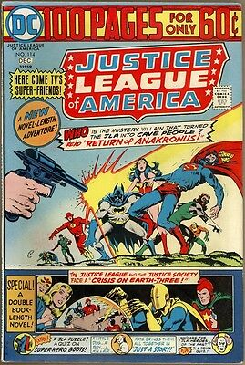 Justice League Of America #114 - FN-