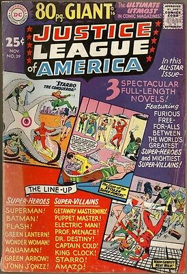 Justice League Of America #39 - G+