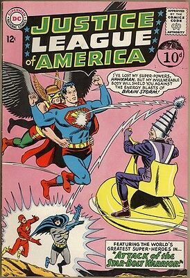 Justice League Of America #32 - VG/FN