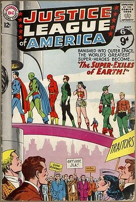 Justice League Of America #19 - G/VG