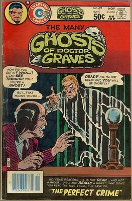 Many Ghosts Of Dr. Graves #69 - VG/FN