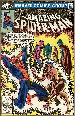 Amazing Spider-Man #215 - FN+