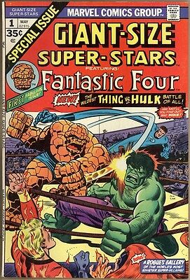 Giant-Size Super-Stars #1 - VF+