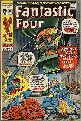 Fantastic Four #108 - VF/NM