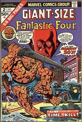 Giant-Size Fantastic Four #2 - VF+