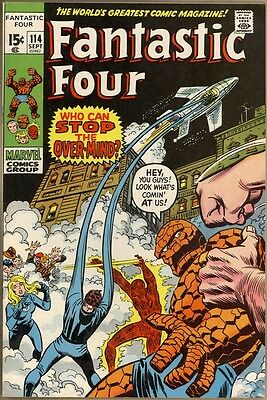Fantastic Four #114 - VF+