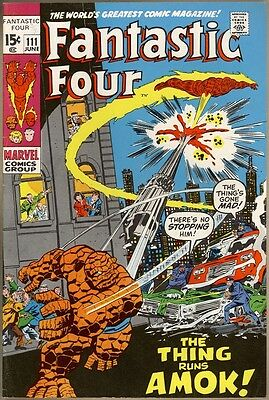 Fantastic Four #111 - VF