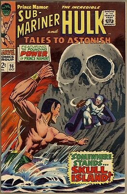 Tales To Astonish #96 - VG/FN