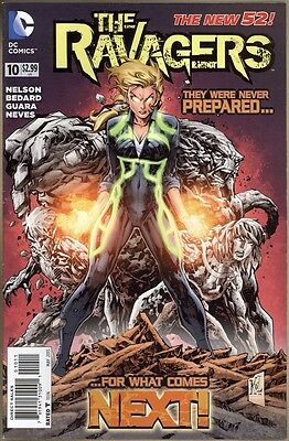 Ravagers #10 - VF+ - New 52