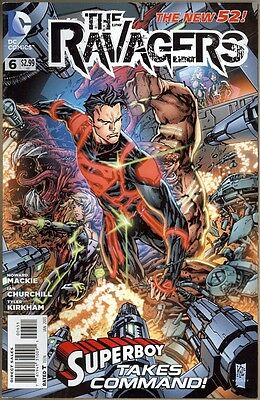 Ravagers #6 - VF - New 52
