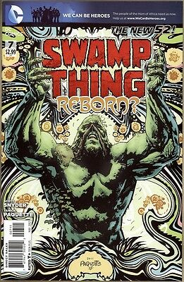 Swamp Thing #7 - NM- - New 52