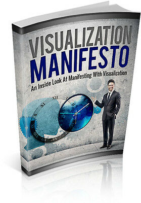 Visualization Manifesto  + 10 Free eBooks With Resell rights ( PDF )