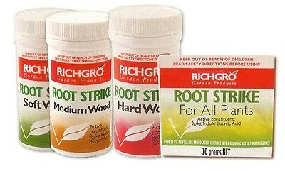 Root Strike Powder Soft Wood 30g Richgro Cuttings Hydroponics