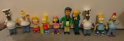 Burger King The Simpsons Figures