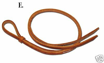 Berlin Custom Hand held leather Over and under whip barrel racing  USA H986