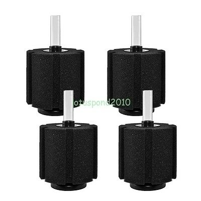 4PCS Aquarium Bio Sponge Filter Breeding Fry Betta Shrimp Nano Fish Tank XY-380