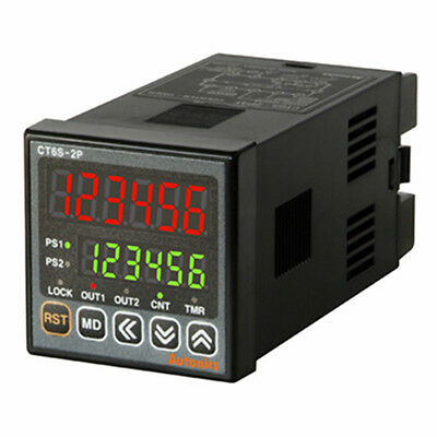 Industrial Digital Timer & Counter CT6S-2P2 Dual preset DC 24-48V  AC 24V