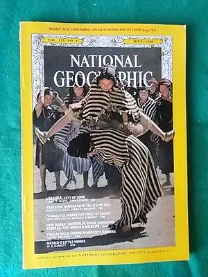 National Geographic - June 1968 Vol 133 #6 - Vienna City Of Song