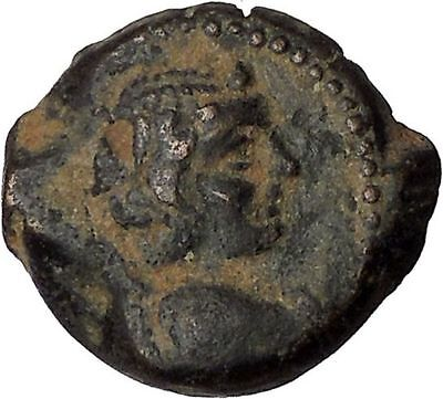 ANTIOCHOS IX 113BC Eros Cupid Love & Nike Authentic Ancient Greek Coin i44100