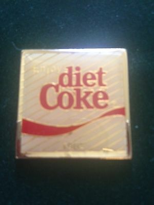 Coca-Cola Pin Centennial Series RARE 1982 Enjoy Diet Coke