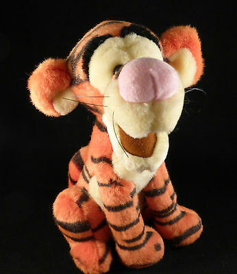 "Official Disney Plush / Cuddly Toy Cute Sitting Tigger Preloved (approx 10"")"