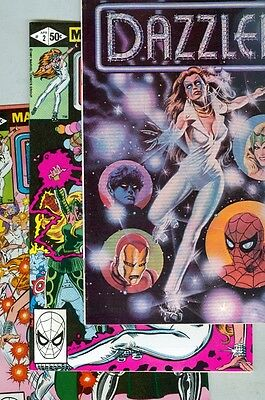Dazzler #1, #2, #3, #4, #5, #6, #7, #8, #9, #10, #11, #12, and #13