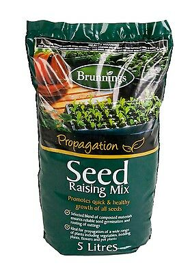 Seed Raising Mix -5L Brunnings Potting Soil Cuttings