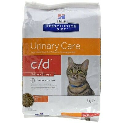 HILL S prescription diet c/d feline  urinary stress mangime secco pollo kg. 4