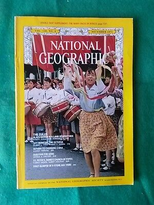 National Geographic - Dec 1971 Vol 140 #6 - Return To Changing China