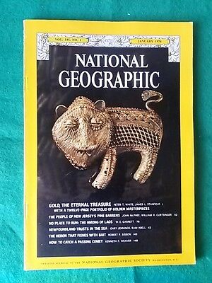 National Geographic - Jan 1974 Vol 145 #1 - Newfoundland Trusts In The Sea
