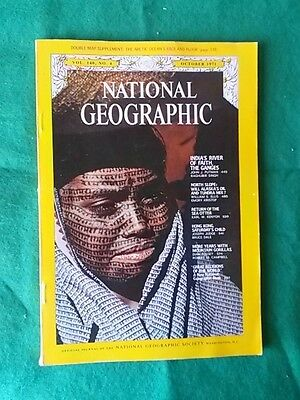 National Geographic - Oct 1971 Vol 140 #4 - India's River Of Faith The Ganges