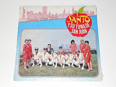 Santo Y Su Tuna De San Juan - SEALED LP - Desde New York - RCA IL7-7453 - SALSA