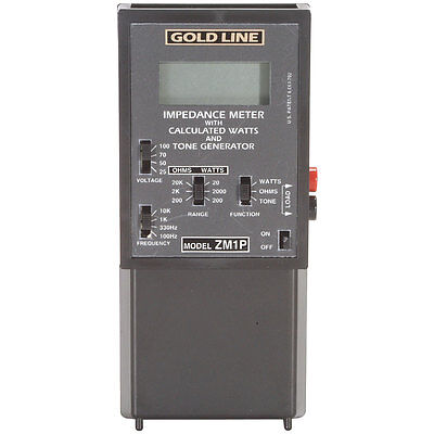 Gold Line ZM-1P Impedance Meter with Protection Relay