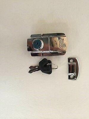LOCK SET Motorcycle Tour Trunk Harley Sportster Softail Dyna Electra