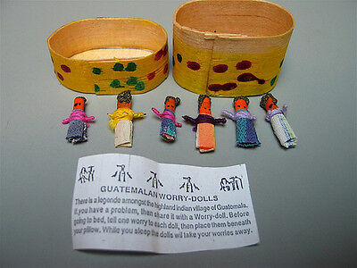 Set of Worry Dolls-Children- wiccan, pagan, witch