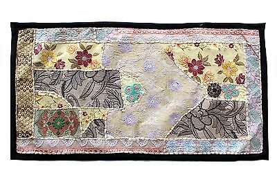 Vintage Tapestry Antique Art Indian Patchwork Wall Hanging Christmas Gift Y951