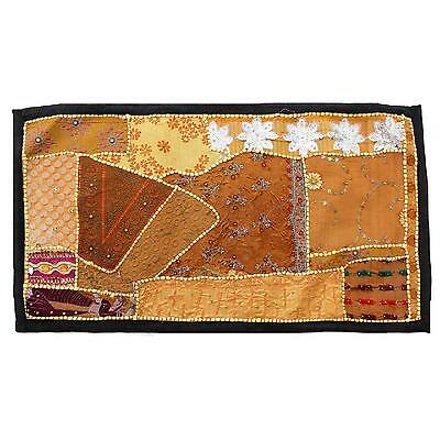 Vintage Tapestry Antique Art Indian Patchwork Wall Hanging Christmas Gift Y941