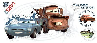 Disney Cars Mater Collage Peel And Stick Flat Pack With Augmented Reality