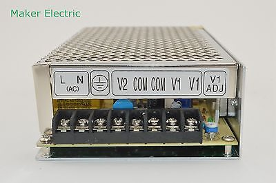 Hot sell 120W 15v 4a,-15v 4a  D-120F15 dual output switching mode power supply