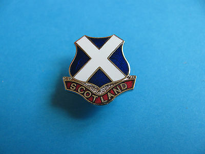 SCOTLAND Pin Badge. VGC. Unused. Hard Enamel.