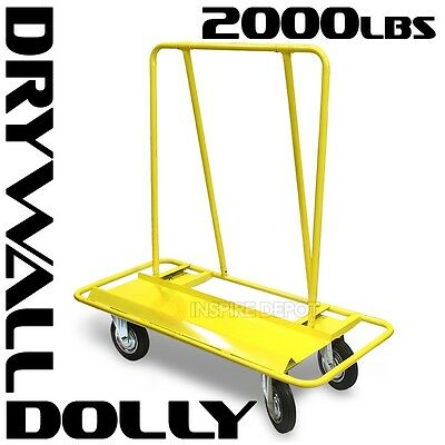 New Drywall Cart Dolly Handling Sheetrock Sheet Panel Service Cart Professional